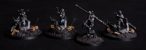 Magos Chensit and kataphron destroyers by Vorbote