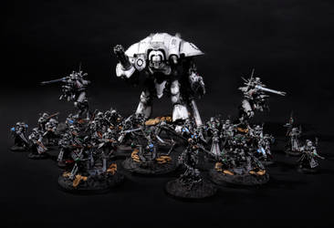 mechanicus army by Vorbote
