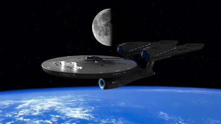 U.S.S. Enterprise by Sparmi