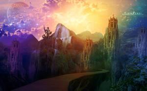 The Lost Ruins by BloomingRoseXeniia