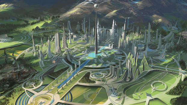 Tomorrowland Environment #2 by vyle-art