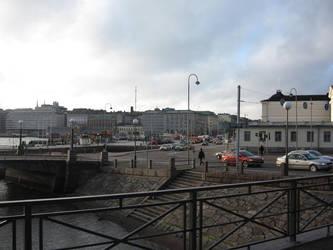 Helsinki Pohjoisesplanadi / Kanavakatu streets by NaalifromFinland