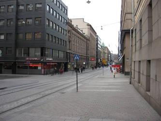Helsinki streets by NaalifromFinland