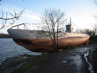 Suomenlinna - U-boot Vesikko by NaalifromFinland