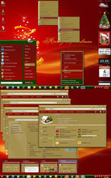 Christmas Holidays for Windows 7 by alkhan