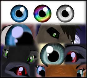 FeralHeart Eye Textures by Wingsndingo