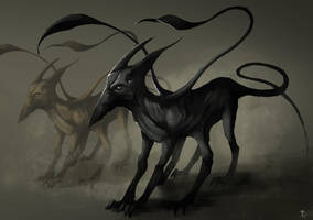 Displacer Beast by the-murdellicious