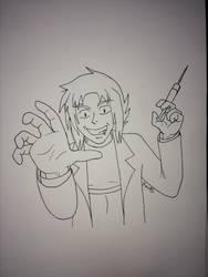 Creepy Doctor Bach by Kai45
