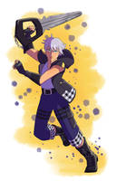 Riku (Kingdom Hearts 3) by Simatra