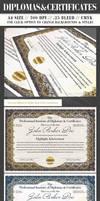 Diplomas and Certificates by ShermanJackson