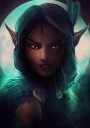 Vex'aliah - critical role by RayRobinVermeulen