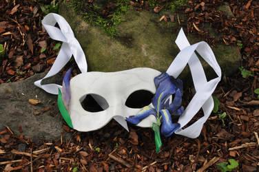 Purpple Iris Mask by SilverCicada