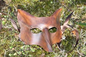 First fox with scar by SilverCicada