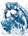 A Joyful Swim - MikazukiArt by Strangerataru