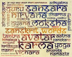 Namaste font free by lalitkala