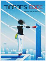Mirror's Edge Poster by jmardesigns