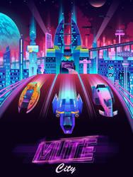 Mute City by jmardesigns