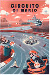 Circuito Di Mario by jmardesigns