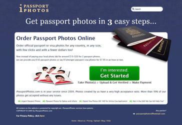 Website Design - iPassportPhotos.com by Kirtan-3d