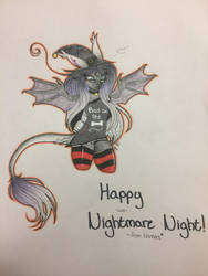 [PA] Happy -late- Nightmare Night!  by ShadowFoxDrawings