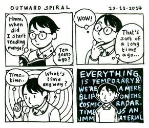 Outward Spiral by yukim4ru