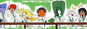 ZOMG 15000 HITS by BandanaGirl