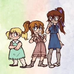 girls of rock and roll by rakuyou