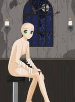 Injured Girl -Fixed Base- by TFAfangirl14