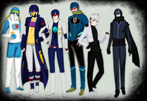 Transformers Human Soundwave's by TFAfangirl14