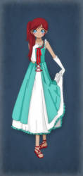 Gravity Falls- Julia's Party Dress by TFAfangirl14