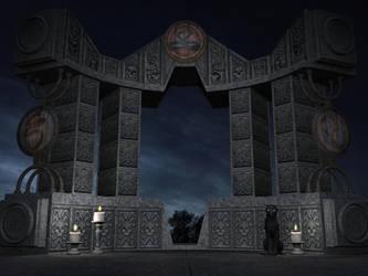 Ritual Gate by shd-stock