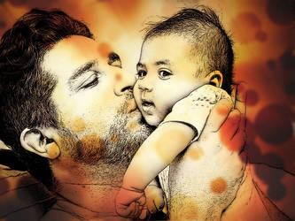 Father and son... by Estebito19