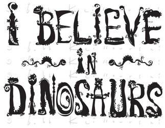 I believe in Dinos by Bobbart