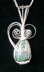 'Delicate' Pendant by Butterfly-lily
