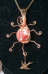 'Solar' Pendant by Butterfly-lily