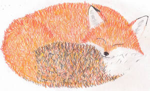 Sleeping Fox by Trillstar