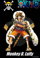 Monkey D. Luffy (Log) by sturmsoldat1