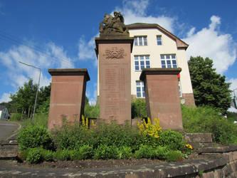 War memorial Aach by sturmsoldat1
