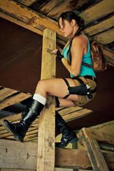 Tomb Raider I by OneMorePike