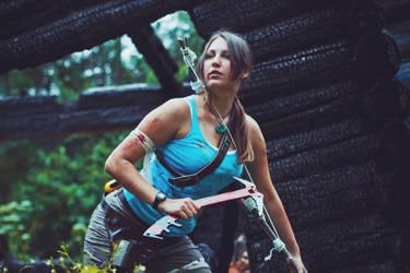Lara Croft (Survivor is Born) by OneMorePike