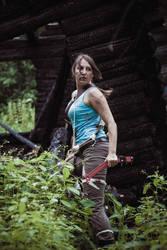Lara Croft Reborn by OneMorePike