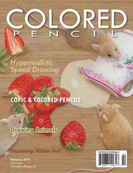 COLORED PENCIL Magazine - February 2014 by ColoredPencilMag