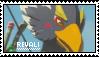 Zelda BOTW - Revali Stamp - F2U by loafdew