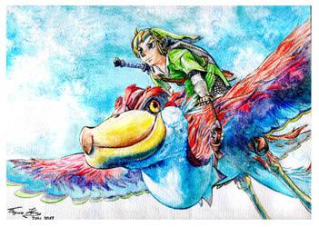 Legend of Zelda - Skyward Sword by BorisKoci