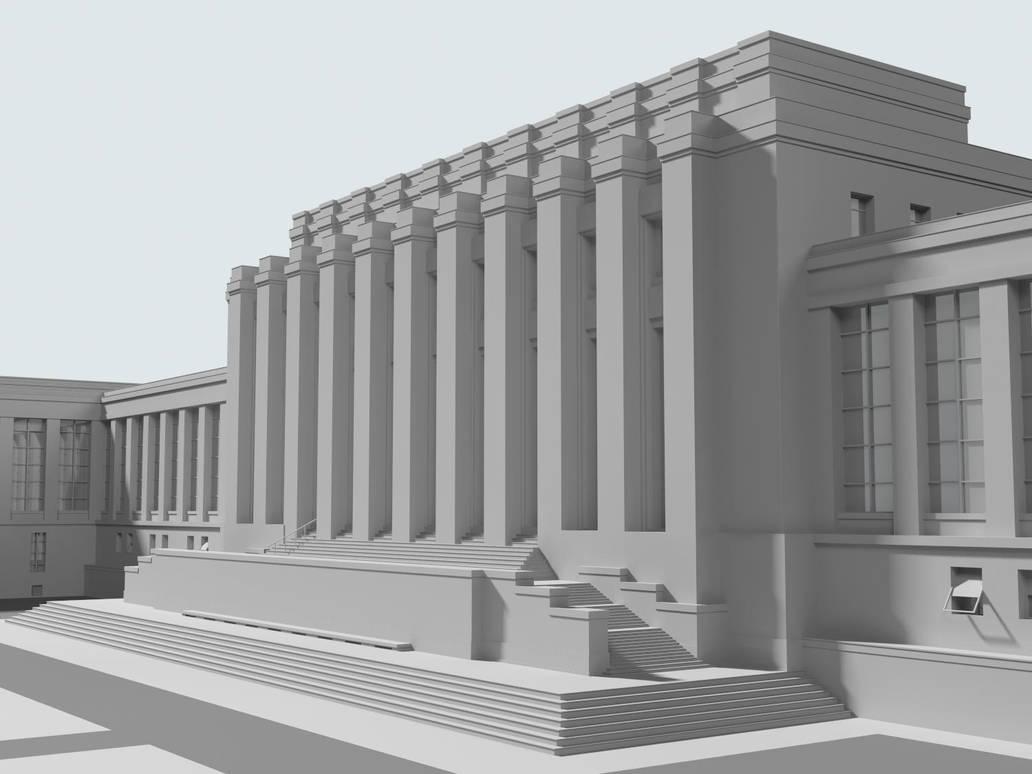 Palais Des Nations by Sedrann