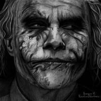 Joker by Kreationofdarkness