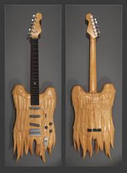 Winged guitar design by Boschman