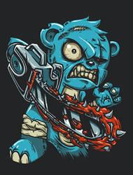 care bear x evildead by chibogfud
