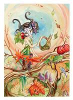 Autumn Harvest by AniaMohrbacher