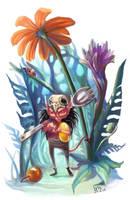 Jelly Bean Demon by AniaMohrbacher